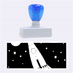 Spaceship Rubber Stamps (large)