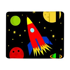 Spaceship Samsung Galaxy Tab Pro 8 4  Flip Case by Valentinaart