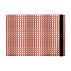 Mod Pink Green Pattern Ipad Mini 2 Flip Cases by BrightVibesDesign