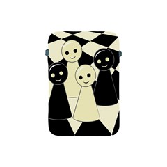Chess Pieces Apple Ipad Mini Protective Soft Cases by Valentinaart