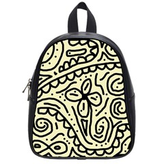 Artistic Abstraction School Bags (small)  by Valentinaart