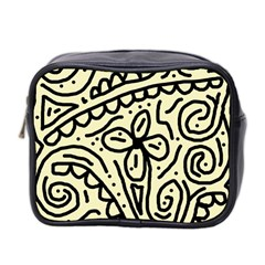 Artistic Abstraction Mini Toiletries Bag 2 Side by Valentinaart