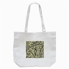 Artistic Abstraction Tote Bag (white) by Valentinaart