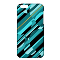 Blue Abstraction Apple Iphone 6 Plus/6s Plus Hardshell Case by Valentinaart