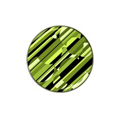 Green Pattern Hat Clip Ball Marker (10 Pack) by Valentinaart