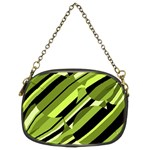 Green pattern Chain Purses (Two Sides)  Front