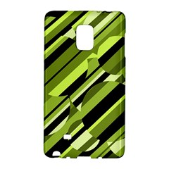 Green Pattern Galaxy Note Edge by Valentinaart