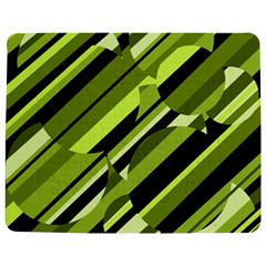 Green Pattern Jigsaw Puzzle Photo Stand (rectangular) by Valentinaart