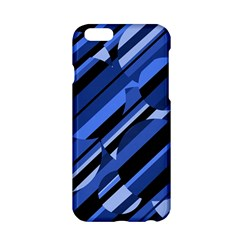 Blue Pattern Apple Iphone 6/6s Hardshell Case by Valentinaart