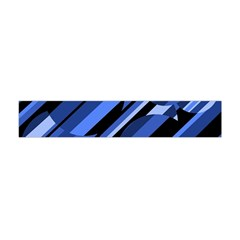 Blue Pattern Flano Scarf (mini) by Valentinaart