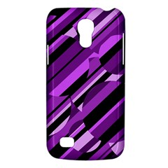 Purple Pattern Galaxy S4 Mini by Valentinaart