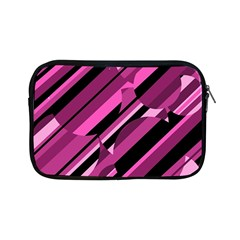 Magenta Pattern Apple Ipad Mini Zipper Cases by Valentinaart