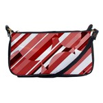 Orange pattern Shoulder Clutch Bags Front