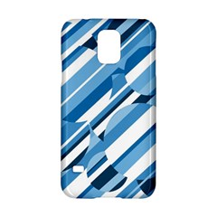 Blue Pattern Samsung Galaxy S5 Hardshell Case
