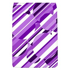 Purple Pattern Flap Covers (s)  by Valentinaart