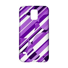 Purple Pattern Samsung Galaxy S5 Hardshell Case