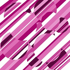 Magenta Pattern Magic Photo Cubes by Valentinaart