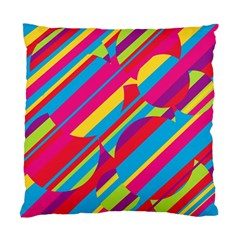 Colorful Summer Pattern Standard Cushion Case (one Side) by Valentinaart