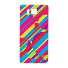 Colorful Summer Pattern Samsung Galaxy Alpha Hardshell Back Case by Valentinaart