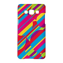 Colorful Summer Pattern Samsung Galaxy A5 Hardshell Case  by Valentinaart