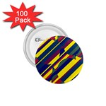 Colorful pattern 1.75  Buttons (100 pack)  Front