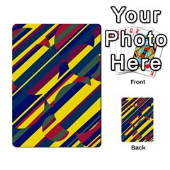 Colorful Pattern Multi Purpose Cards (rectangle)
