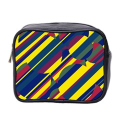 Colorful Pattern Mini Toiletries Bag 2 Side by Valentinaart