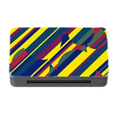 Colorful Pattern Memory Card Reader With Cf by Valentinaart