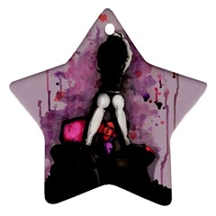 Make You Dirty Star Ornament (two Sides)