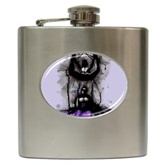 Suspension Hip Flask (6 Oz) by lvbart