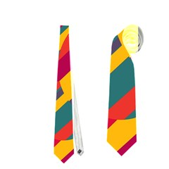 Colorful Hot Pattern Neckties (two Side)  by Valentinaart