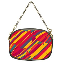 Colorful Hot Pattern Chain Purses (two Sides)  by Valentinaart