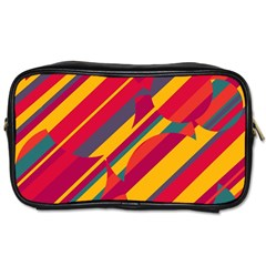 Colorful Hot Pattern Toiletries Bags