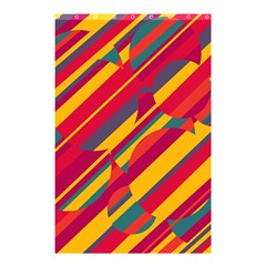 Colorful Hot Pattern Shower Curtain 48  X 72  (small)  by Valentinaart