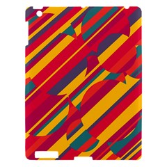 Colorful Hot Pattern Apple Ipad 3/4 Hardshell Case by Valentinaart