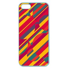 Colorful Hot Pattern Apple Seamless Iphone 5 Case (color) by Valentinaart