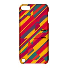 Colorful Hot Pattern Apple Ipod Touch 5 Hardshell Case With Stand by Valentinaart