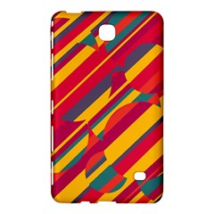 Colorful Hot Pattern Samsung Galaxy Tab 4 (8 ) Hardshell Case  by Valentinaart