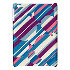 Blue And Pink Pattern Apple Ipad Mini Hardshell Case by Valentinaart