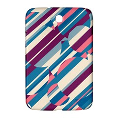 Blue And Pink Pattern Samsung Galaxy Note 8 0 N5100 Hardshell Case  by Valentinaart