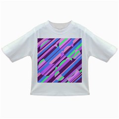 Pink, Purple And Green Pattern Infant/toddler T Shirts by Valentinaart