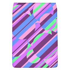 Pink, Purple And Green Pattern Flap Covers (s)  by Valentinaart