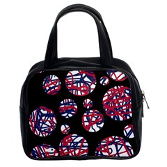 Colorful Decorative Pattern Classic Handbags (2 Sides) by Valentinaart