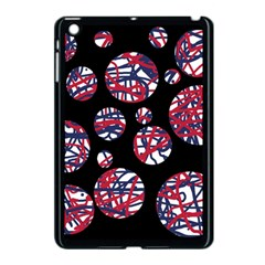 Colorful Decorative Pattern Apple Ipad Mini Case (black) by Valentinaart