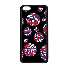 Colorful Decorative Pattern Apple Iphone 5c Seamless Case (black)