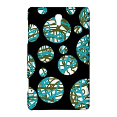 Decorative Blue Abstract Design Samsung Galaxy Tab S (8 4 ) Hardshell Case  by Valentinaart