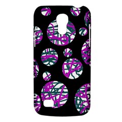Purple Decorative Design Galaxy S4 Mini by Valentinaart