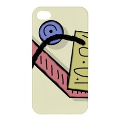 Decorative Abstraction Apple Iphone 4/4s Hardshell Case by Valentinaart