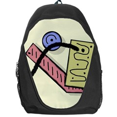 Decorative Abstraction Backpack Bag by Valentinaart