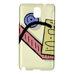 Decorative Abstraction Samsung Galaxy Note 3 N9005 Hardshell Case by Valentinaart